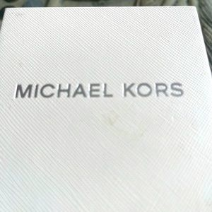 Micheal kors watch stainless steel silver